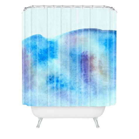 ocean shower curtains ocean tide woven shower curtain wonder forest