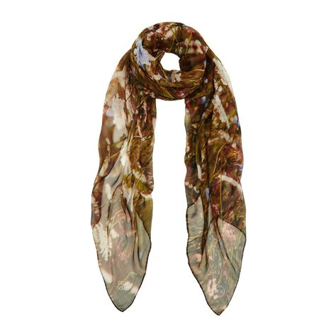 italian meadow silk scarf by celia gould