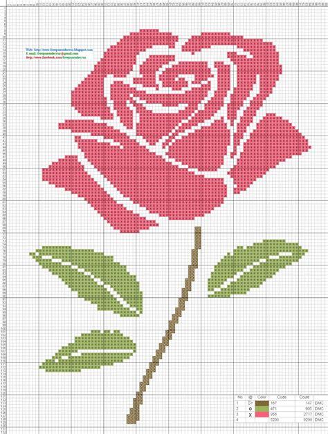 imagenes flores en punto de cruz im 225 genes de rosas de punto de cruz imagui