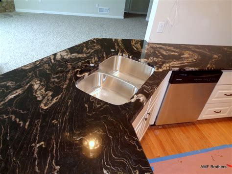 Black Cosmic Granite Countertops by Black Cosmic Wi Amf Brothers