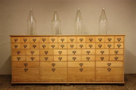 large antique oak shop chest of drawers 283114