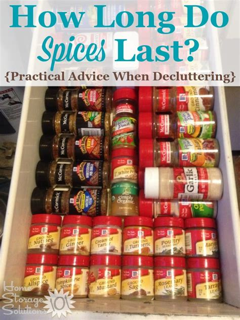 Spice T Go how do spices last when you should declutter them