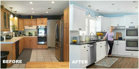 cheap kitchen makeover ideas before and after kitchen makeovers before and after kitchen makeovers