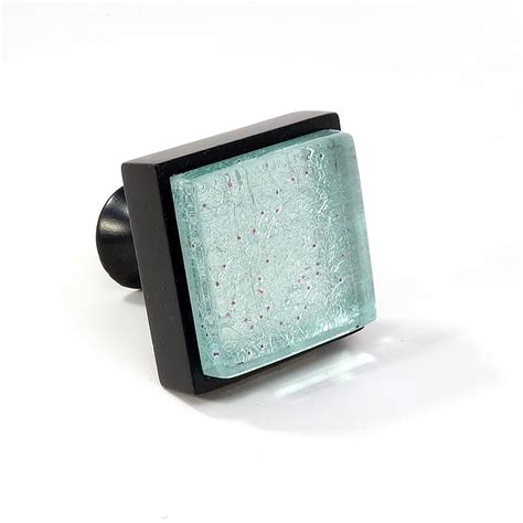 square crystal drawer pulls crystal glass black metal square modern cabinet