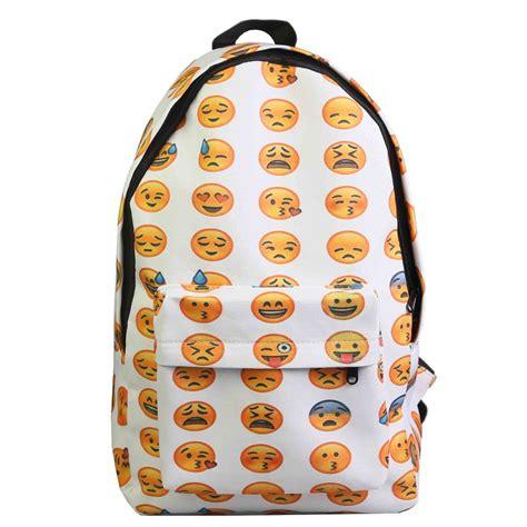 imagenes de mochilas emoji compra chica mochilas para la escuela secundaria online al