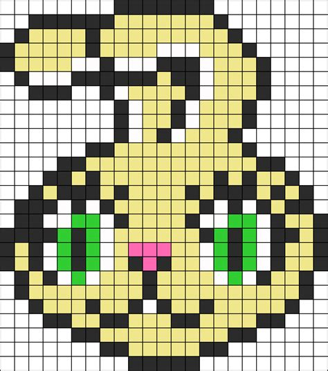 animal perler bead patterns bunny perler perler bead pattern bead sprites animals