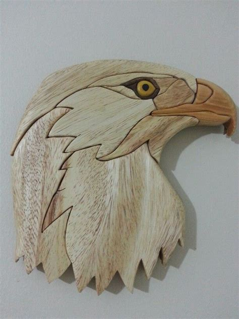 eagle intarsia    toms woodworking shed tut