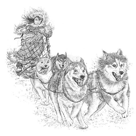 dog team coloring page illustrator saturday hazel mitchell writing and