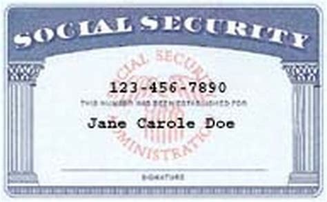 social security card template a cents of entitlement brief wit
