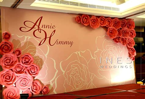 Wedding Backdrop Design Template by Printing Backdrop Design Ines Weddings Event Decoration
