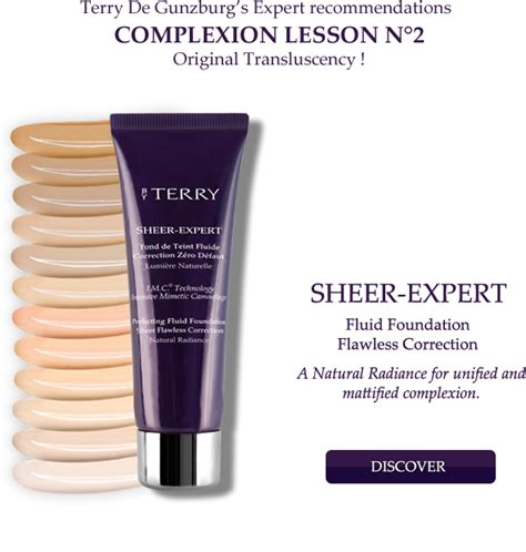 by terry cover expert perfecting fluid foundation honey by terry sheer expert foundation pixiwoo com