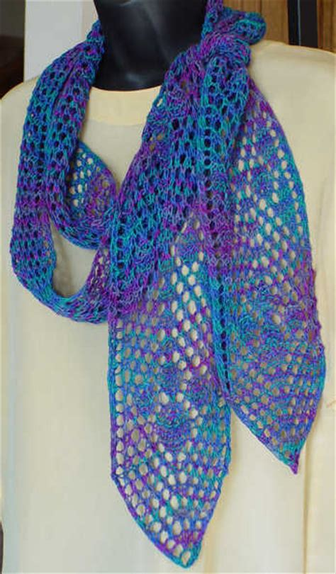 knitting pattern for narrow scarf the skinny on lace