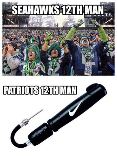 12th Man Meme - the internet responds to new england patriots deflate gate