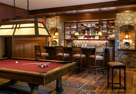 Bar Billiard Room by 12 Superbowl Caves Boston Design Guide