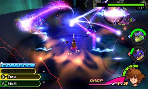 Kaset Kingdom Hearts 3d Drop Distance 3ds kingdom hearts 3d drop distance screenshots showcase frantic combat