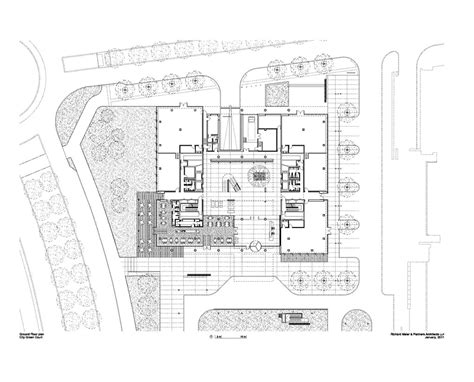 richard meier floor plans richard meier partners completes city green court in