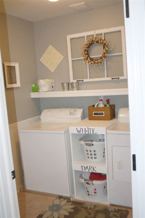 small laundry room storage ideas photos simple small laundry room with shelving ideas a