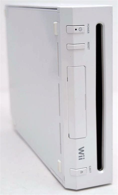 nintendo wii white console nintendo wii white console home system bundle