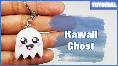 imagenes de llaveros kawaii kawaii ghost tutorial polymer clay porcelana fr 237 a youtube