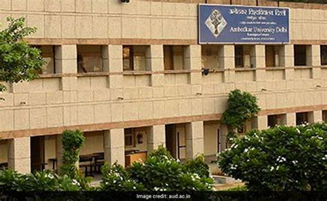 Ambedkar Delhi Mba Admission 2014 by Ambedkar Begins Application Process For Pg