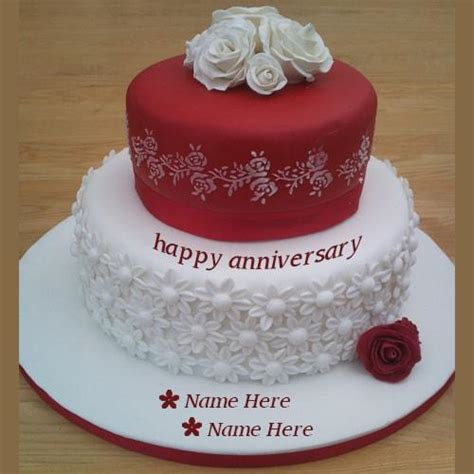 Wedding Anniversary Quotes On Cakes by Write Name On Happy Birthday Cakes And Cards Wishes