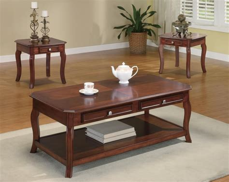 3 living room table sets living room occasional sets 3 pc set 701508 three