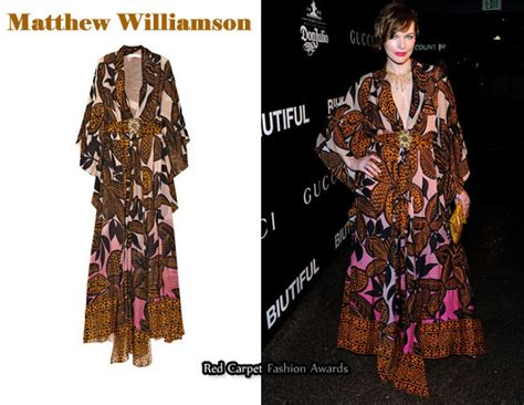 In Ali Larters Closet Matthew Williamson by In Milla Jovovich S Closet Matthew Williamson Printed
