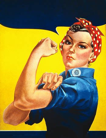 rosie  riveter stock photograph