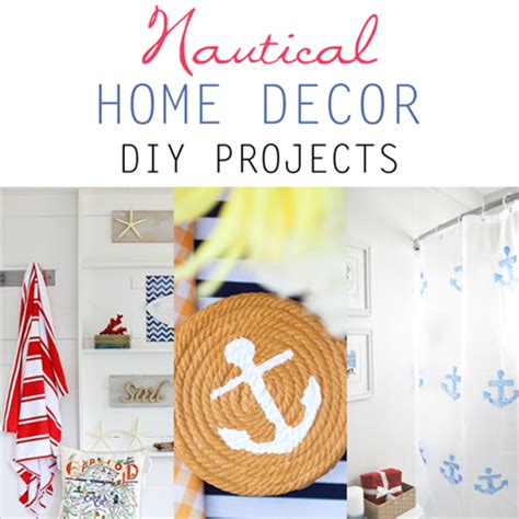 nautical home decor diy projects the cottage market