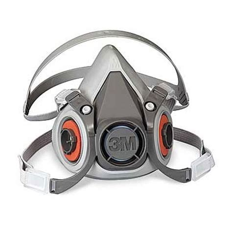 3m 6300 07026 aad half facepiece reusable respirator large 3m respirators 3mm6200
