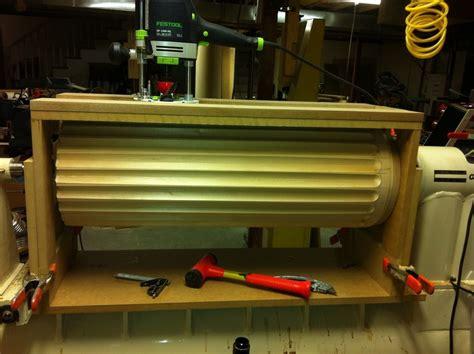 lathe mounted fluting jig wood turning pinterest