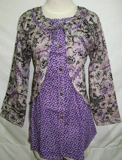 Baju Gamis Wanita Pakaian Busana Muslimah Butik Java F 0169d blouse zidna collection baju batik baju batik