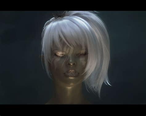 skyrim orc female face fgems female orc textures at skyrim nexus mods and community