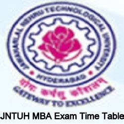 Going To Get A 2nd Mba by Jntuh Mba 1st 2nd 3rd 4th Sem Time Table 2018