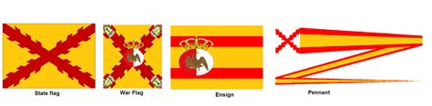 flag pavia image gallery new spain flag