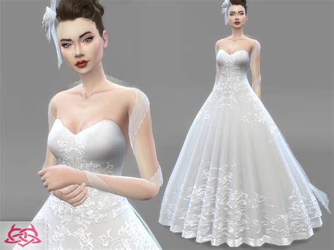 Wedding Dress The Sims 4 by Dress Bridal Headdress Found In Tsr Category Sims 4