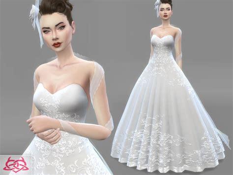 Set Tiara Cc dress bridal headdress found in tsr category sims 4