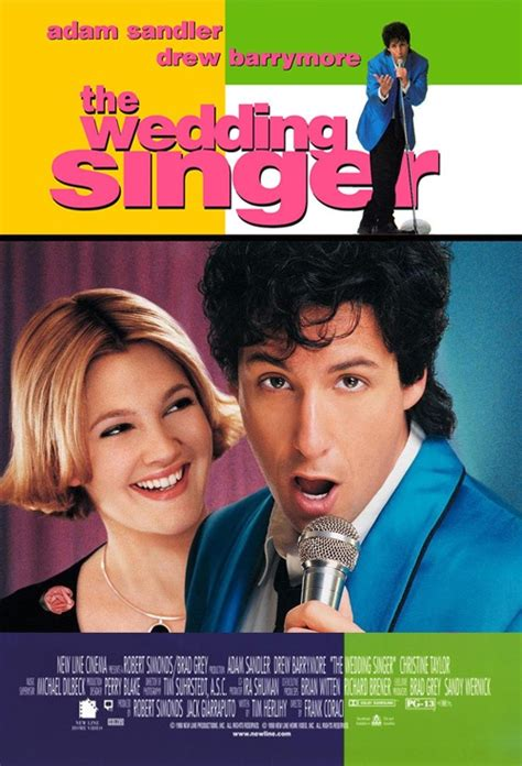 The Wedding Singer 1998 Review And Trailer by Poster For The Wedding Singer Flicks Co Nz