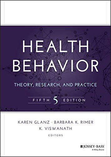 introduction to health behavior theory books cheapest copy of health behavior theory research and