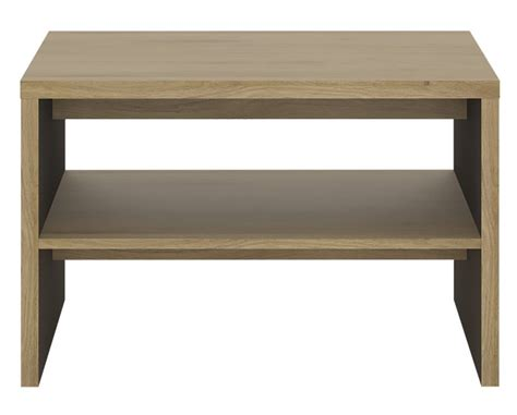 abdabs furniture shetland coffee table with shelf