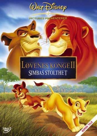 film lion king 2 online l 248 venes konge 2 simbas stolthet