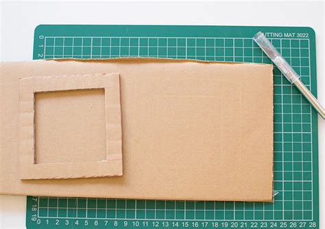 Handmade Cardboard Photo Frames - how to make a cardboard diy photo frame