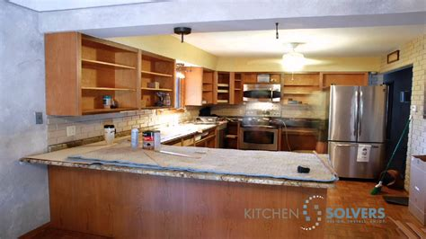 kitchen cabinet refacing supplies kitchen cabinet refacing time lapse of kitchen cabinet
