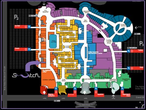 Dubai Mall Map Haemin