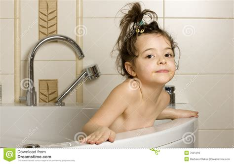 Baby In The Bathtub by Baby In The Bathtub Stock Photo Image 7631210