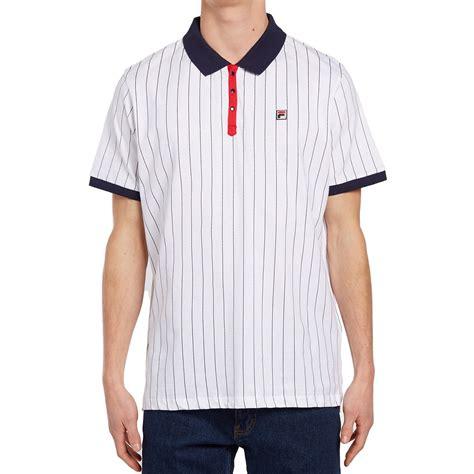 Polo Shirt Fila Keren Terlaris fila bb1 polo shirt white navy