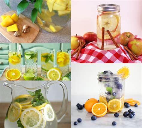 membuat infused water buat diet menyegarkan inilah 10 ramuan infused water terbaik untuk
