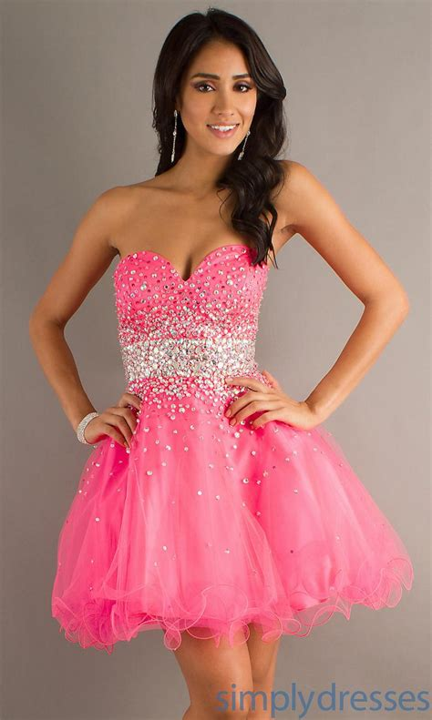 Homecoming Dresses by Pink Homecoming Dresses Kzdress
