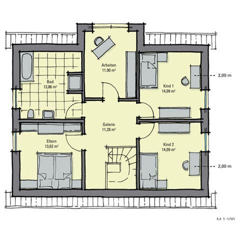 Grundriss Haus 5 Schlafzimmer by Einfamilienhaus Guenstig Bauen Birkenallee Variante 1