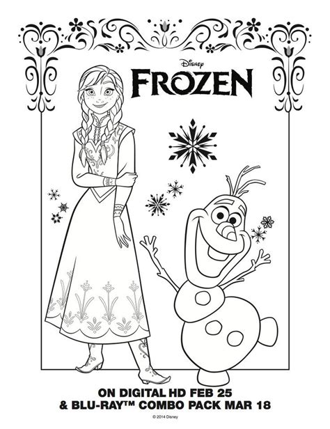 frozen coloring pages olaf in summer frozen coloring pages olaf in summer hd frozen anna olaf